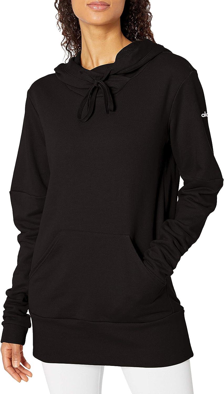 Alo Yoga Womens Cover Sweatshirt Dress