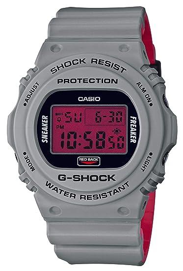 Casio G-Shock DW-5700SF-1JR - Reloj de Pulsera con Zapatillas para
