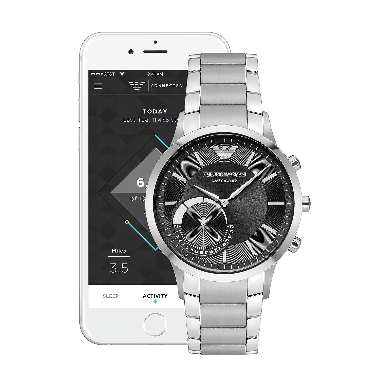 b09f5e94759 Amazon.com  Emporio Armani Hybrid Smartwatch ART3000  Watches