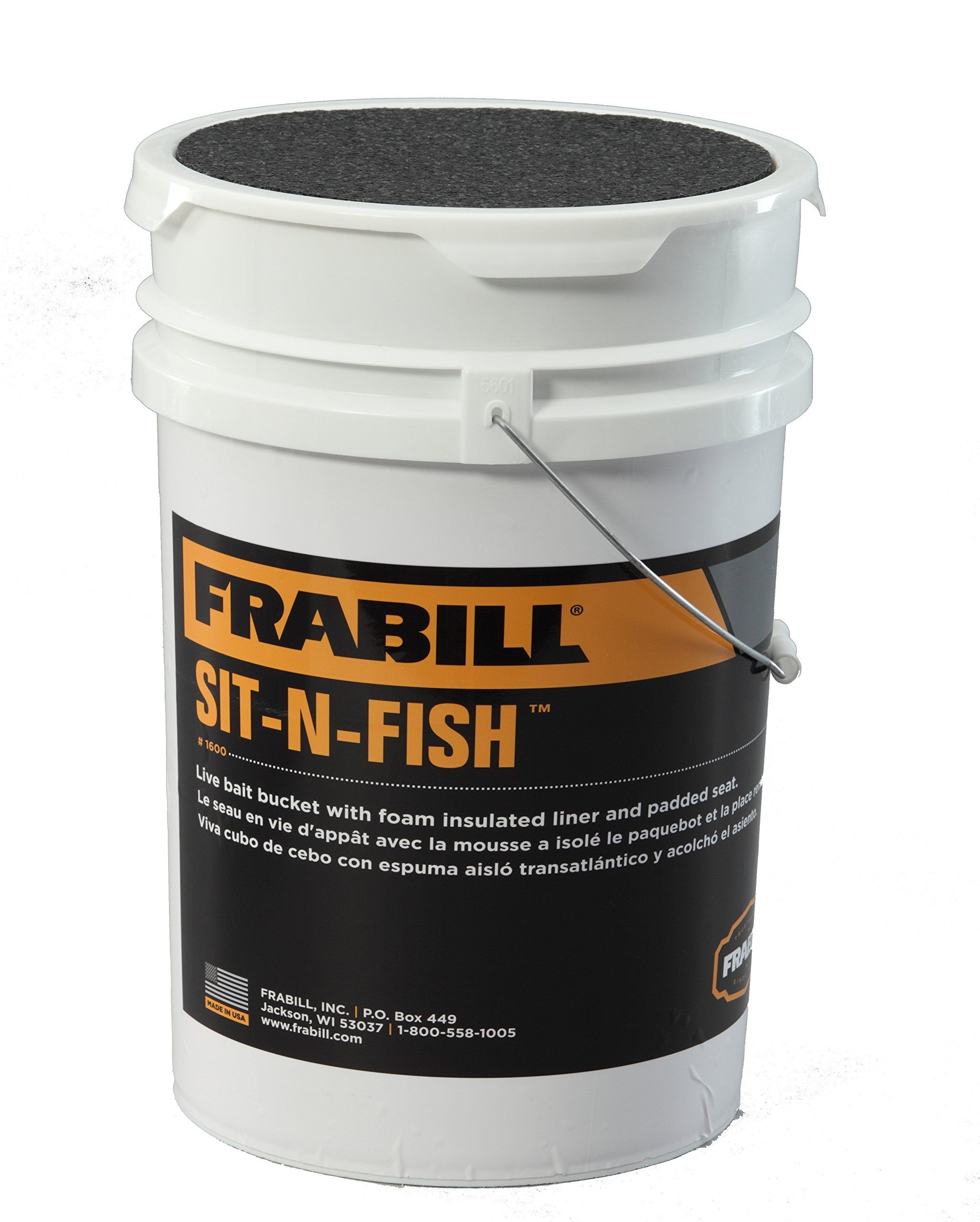 Frabill Sit-N-Fish Bucket by Frabill