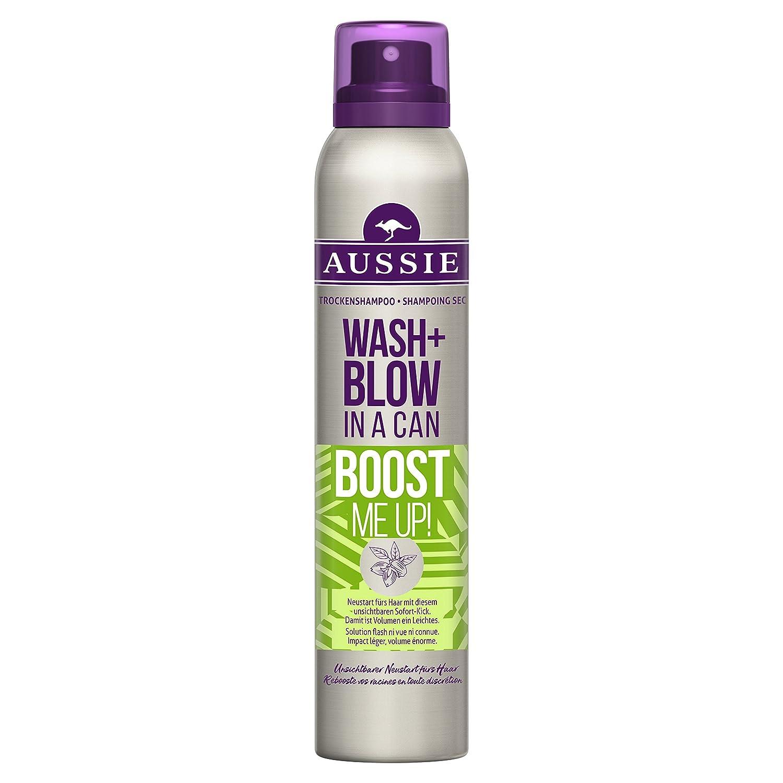 Aussie Wash + Blow Peach Fusion Shampoing Sec 180ml, Pour Les Cheveux En Mal De Fraîcheur - Lot de 2 4084500262195