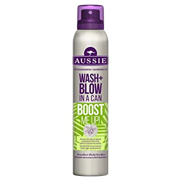 Aussie Wash + Blow Boost Me Up Dry Shampoo 180 ml for Freshness Hair