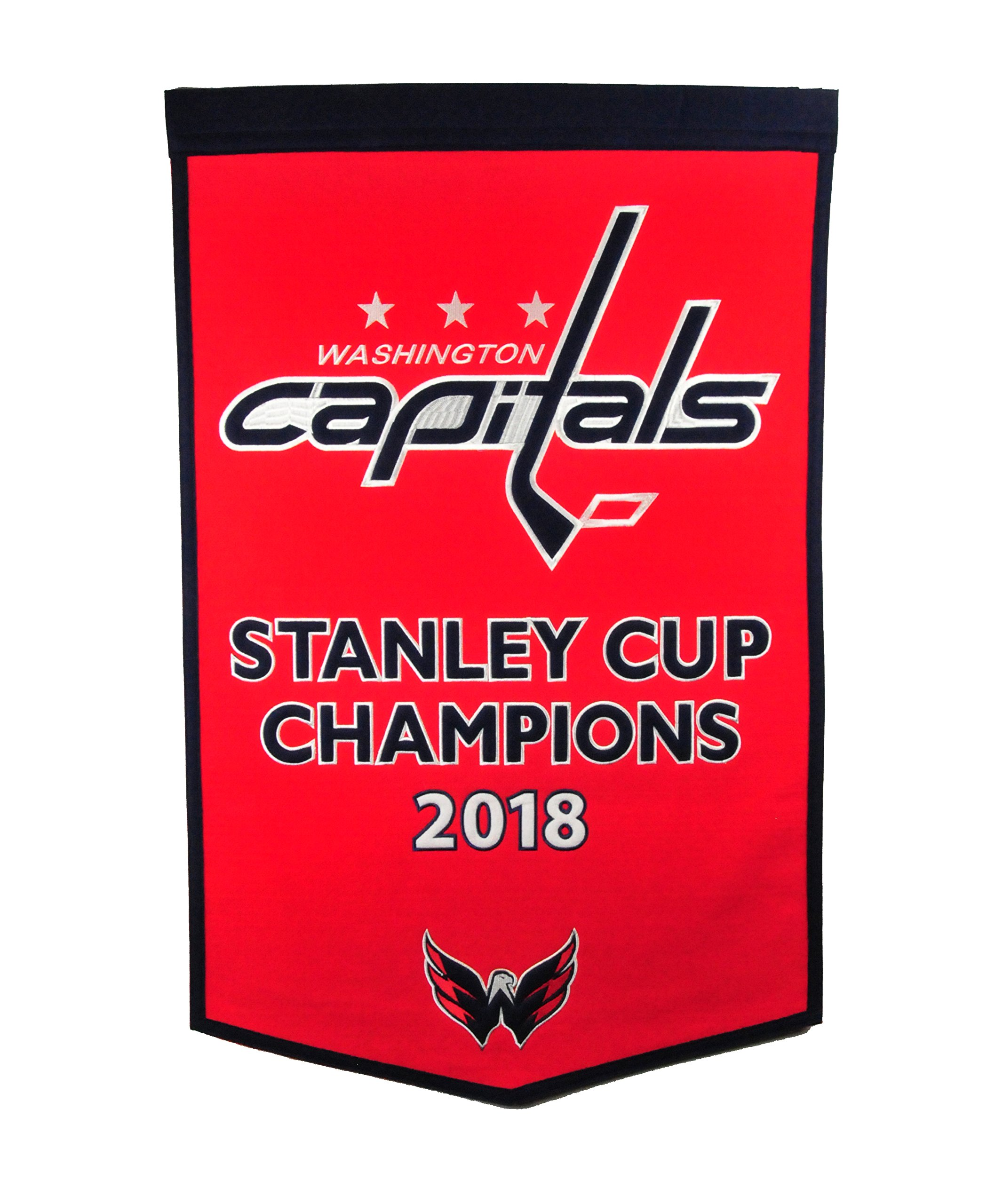 Washington Capitals 2018 NHL Stanley Cup Champions Dynasty Banner by Winning Streak