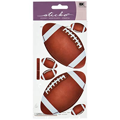 Sticko Stickers, Footballs: Arts, Crafts & Sewing