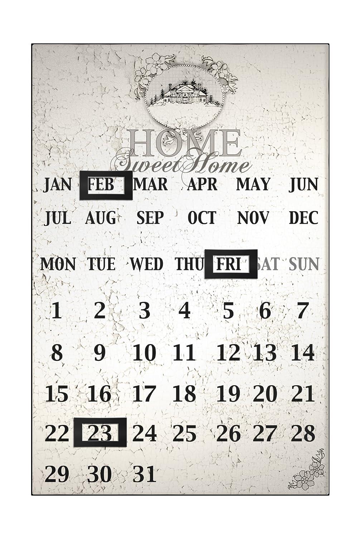 Premier Housewares Home Sweet Home Magnetic Calendar 2800637