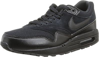 Nike Air Max 1 Essential, Baskets mode mixte adulte, Noir