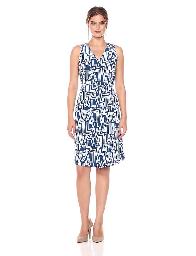 763401b82c0ad Amazon.com: Lark & Ro Women's Sleeveless Wrap Dress: Clothing