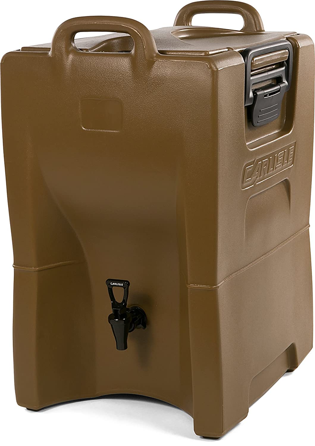 Carlisle IT100043 Cateraide IT Insulated Beverage Server / Dispenser, 10 Gallon, Caramel