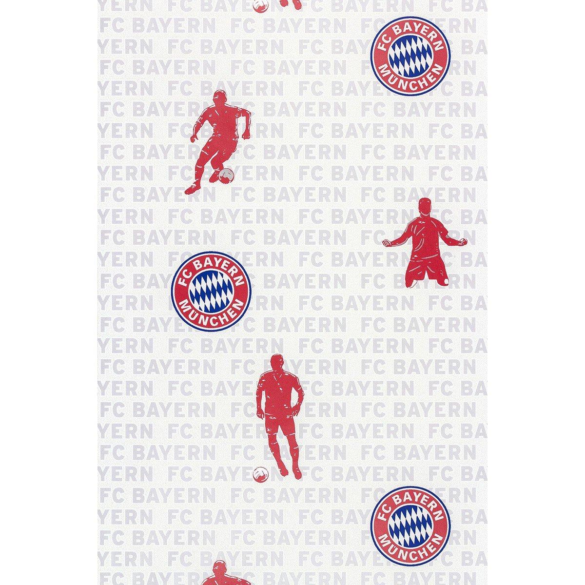 Rasch Tapete - FC Bayern 703108/70310-8: Amazon.de: Baumarkt