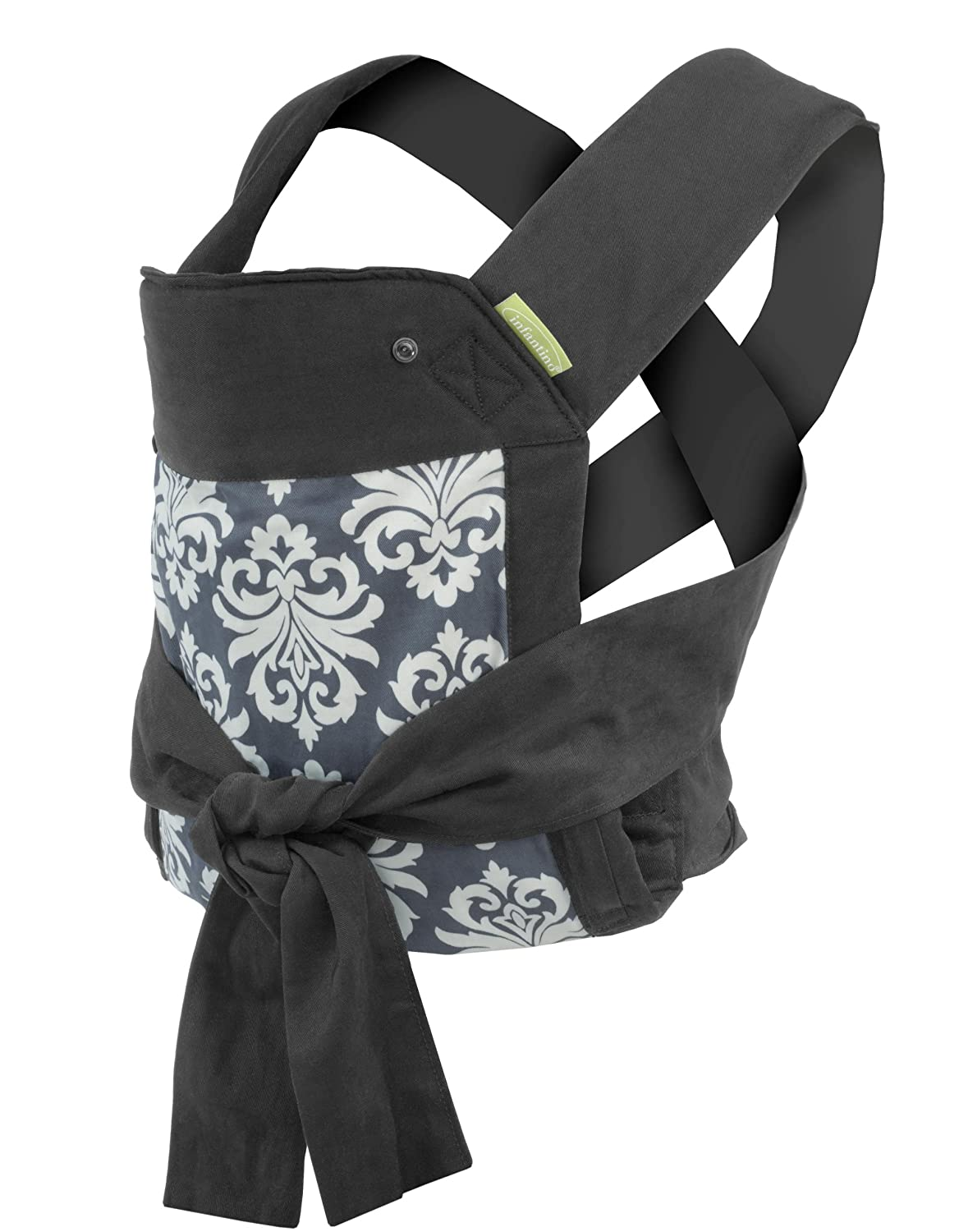 Infantino Sash Mei Tai Carrier, Black/Gray 200-122