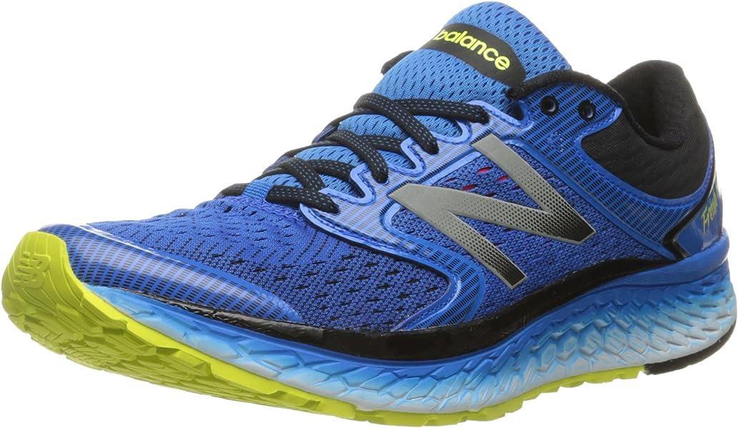 New Balance 1080 V7 Fresh Foam Mens D Running Shoes - Blue - Size 8 ...