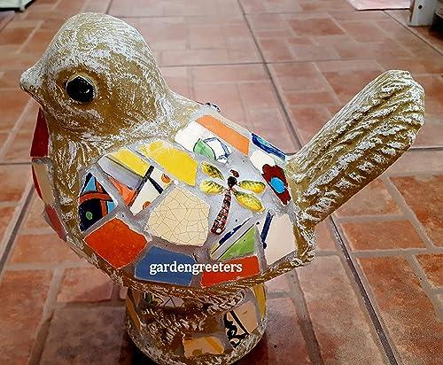 Mosaic Bird Mosaic Statue Bird Mosaic