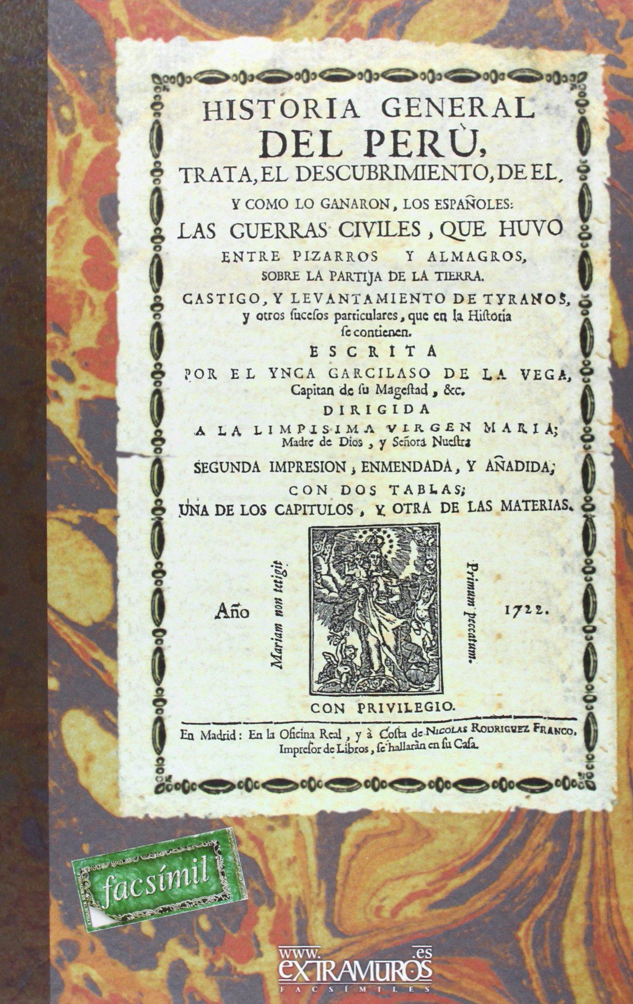 Historia general del Perú (América): Amazon.es: Vega, El Inca Garcilaso de la: Libros