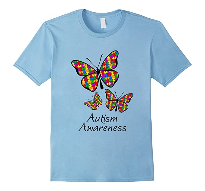 Autismo Farfalla T-shirt AK5Ujqr