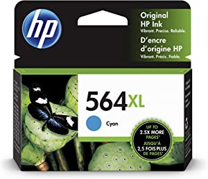 HP 564XL | Ink Cartridge | Cyan | CB323WN