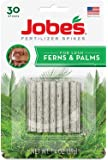 Jobe's Fern & Palm Fertilizer Spikes, 16-2-6 Time Release Fertilizer for Indoor Palm Plants, 30 Spikes per Package
