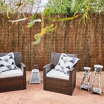 Catral 11010001 Brezo Ecológico Standard, Marrón, 500 x 3 x 100 cm: Amazon.es: Jardín