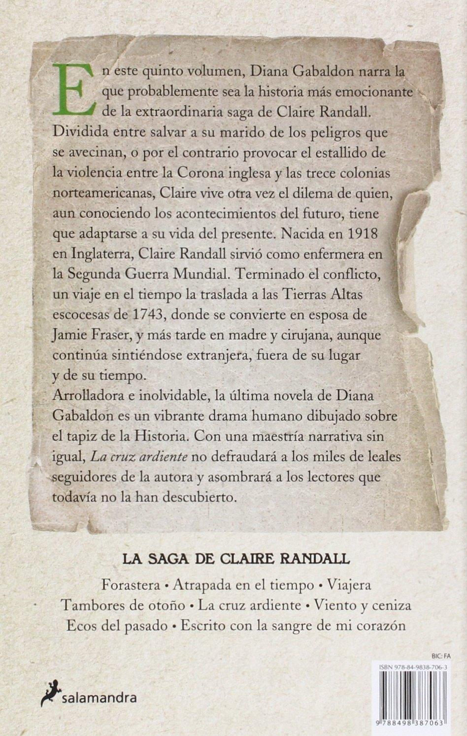 La cruz ardiente (Saga Outlander): Amazon.es: Gabaldon, Diana: Libros