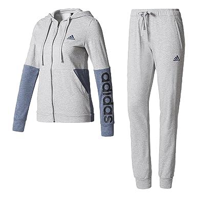 a2308a3fd48 adidas Marker Hoody Ts Sweatshirt for Woman, Grey (Brgrin/Azusen), XL