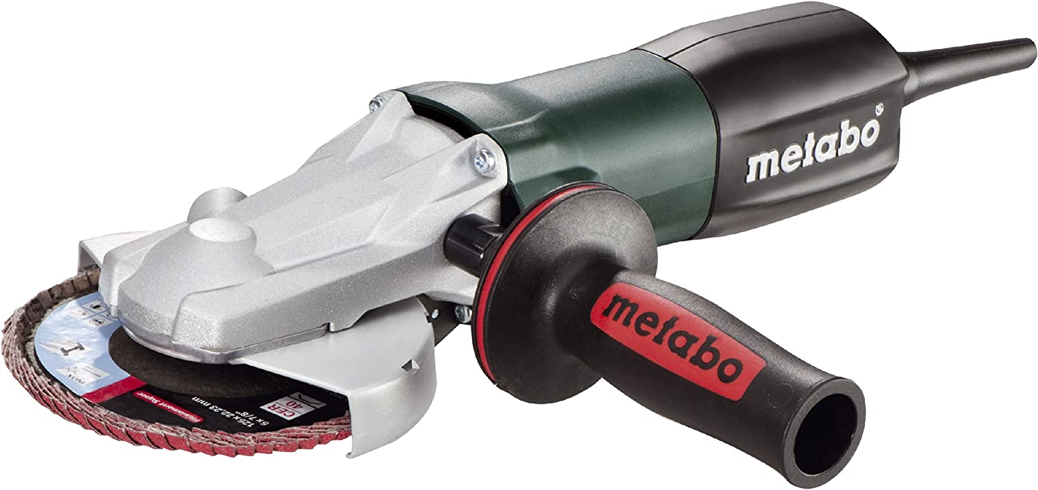 Flat Angle Grinder, 5 in. dia.