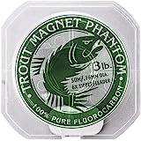 Trout Magnet Phantom 100% Fluorocarbon Fishing Leader Line, 50M (2lb, 3lb, 4lb Test)