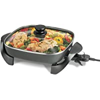 Black & Decker 12 in. x 12 in. Temperature Controlled Electric Skillet