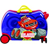 """Nickelodeon Blaze and the Monster Machines CarryOn 20"""" Kids Ride-On Luggage"""