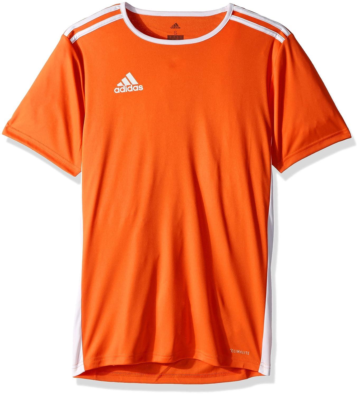 Adidas エントラーダジャージー 男子用 サッカー 18。 B072RCSVGT XL オレンジ/ホワイト オレンジ/ホワイト XL