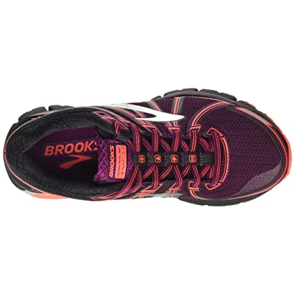 0f20dc39309f0 ... Brooks Women s Adrenaline ASR 14 Black Ebony Pickled Beet 6.5 B US