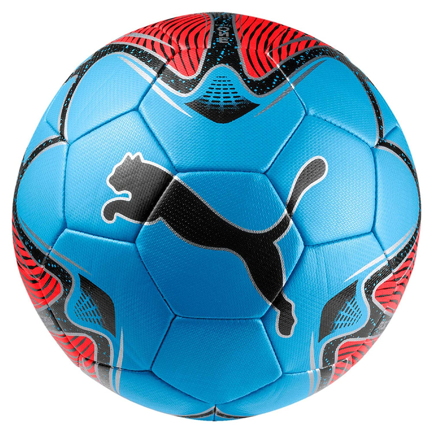Puma One Star Ball Balón de Fútbol, Unisex Adulto, Red Blast/Bleu ...