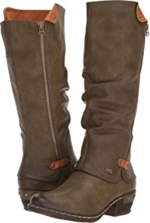Rieker Bernadette 93752 00 Women's Black Dress Boots: Amazon