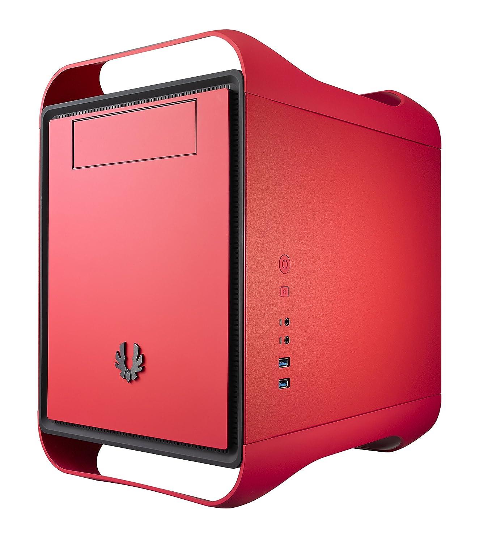 Caja de ordenador rojo red pc