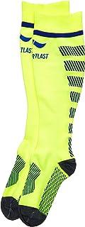 Sportlast Pro Chaussettes de Compression, Jaune/Bleu, L P320YAL
