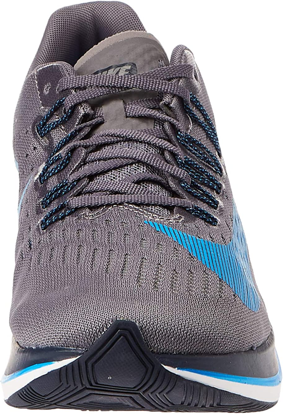 Nike Zoom Fly, Sneakers Basses Homme Multicolore Gunsmoke Blue Hero Obsidian Thunder Grey 001