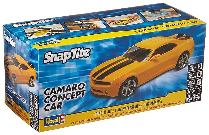 Amazon com: Revell SnapTite Camaro Concept Car Plastic Model