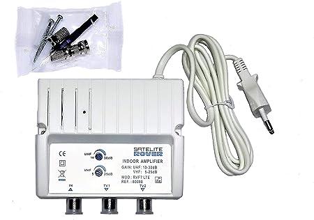 Amplificador DE Antena TV TDT para Interior Rover 30 dB LTE
