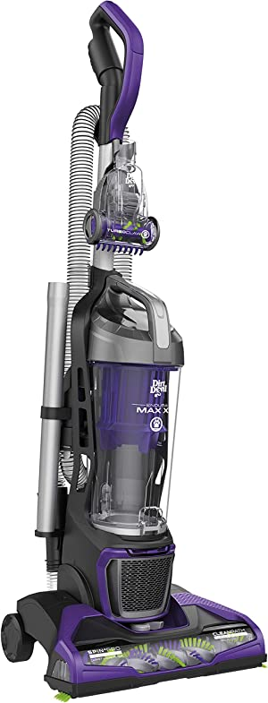 Dirt Devil Endura Max XL Upright Vacuum Cleaner for Pets, Bagless, Lightweight, Purple, UD70186
