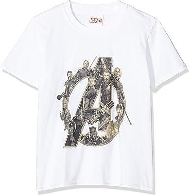 Marvel Girls Infinity War Avengers Logo T-Shirt