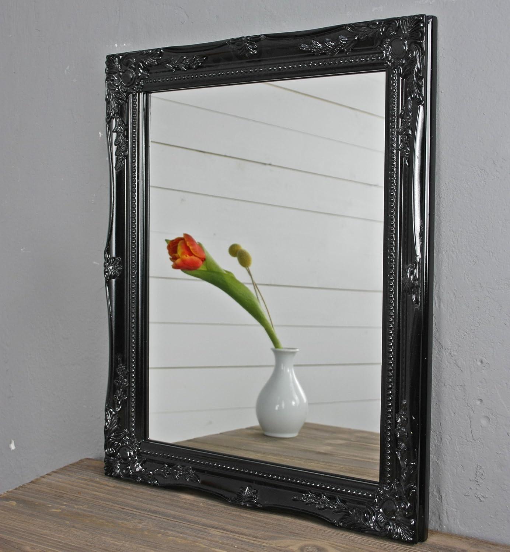 Espejo Rectangular De Pared En Blanco De La Antig Edad Con P Tina  ~ Espejos Decorativos Segunda Mano