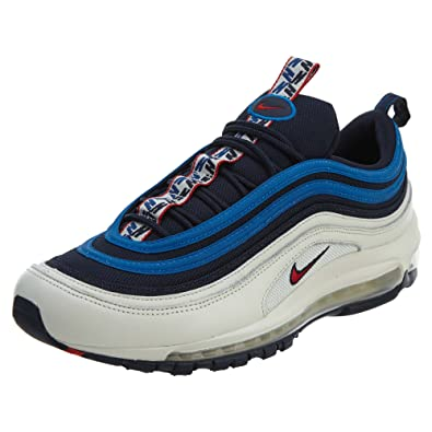 b740d9003b Nike Men's Air Max 97 SE Running Shoes Running Shoes Obsidian/University-Red -