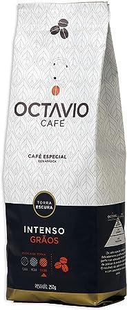 Café Torrado em Grãos Intenso Octavio Café Especial 250g