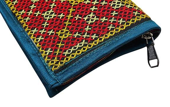 PEEGLI Carteras Artesanales Hechas A Mano Indio Llevan Elegante Embrague Bordado: Amazon.es: Zapatos y complementos