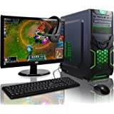ADMI GAMING PC PACKAGE: Powerful Desktop Computer, 21.5 Inch 1080p Monitor, Keyboard, Mouse and Gaming HeadSet (PC SPEC: AMD A6-6400K 4.1GHz Dual Core Processor with Radeon HD 8470D Graphics, USB 3.0, 500W PSU, 1TB Hard Drive, 8GB RAM, 24 x DVDRW Drive, Wifi, Goblin Gaming Case, Pre-Installed with Windows 10 Operating System)