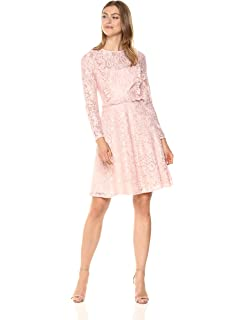 b9195cb27cc2 OB2-12 Women's Elegant Floral Lace Sleeveless Cocktail Dress at ...