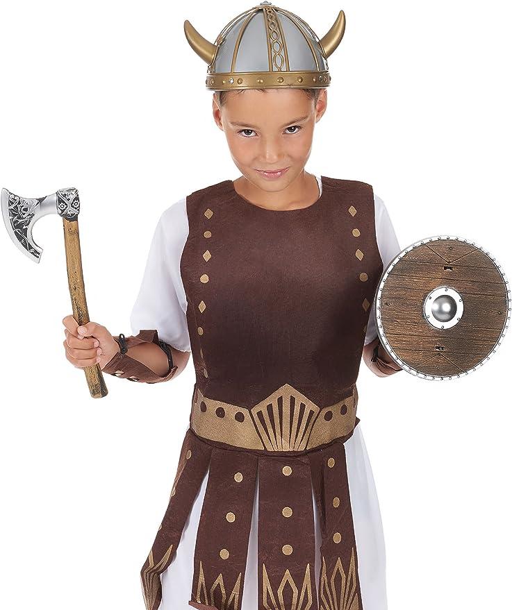 Kit vikingo niño - Única: Amazon.es: Juguetes y juegos