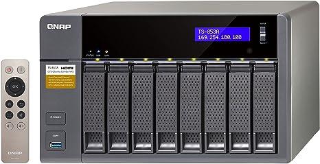 QNAP TS-853A Ethernet Torre Negro NAS - Unidad Raid (Unidad de ...