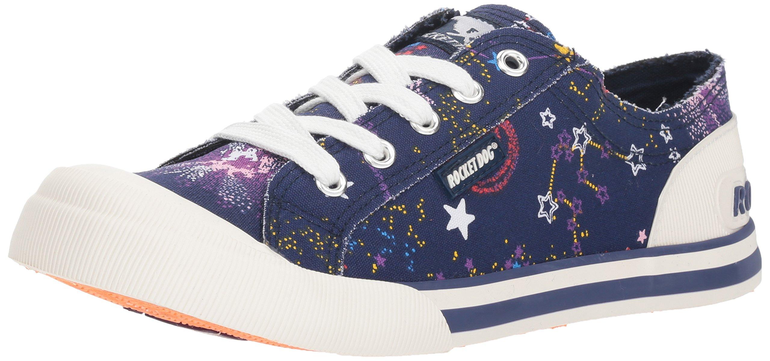 Rocket Dog Women's Jazzin Stargaze Cotton Sneaker, Navy Multi, 6 M US
