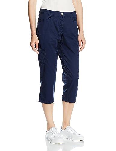 Bonita Pantalón Azul ES 44 (DE 42)
