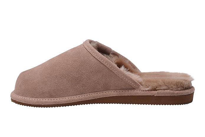 Shepherd HUGO 1201 - Zapatillas de casa para hombre, color gris, talla 41