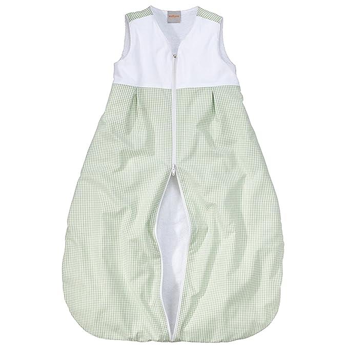 wellyou Niños de bebé de saco de dormir, con forro polar, color verde de